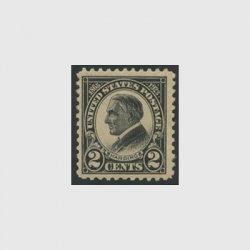 アメリカ 1923年ハーディング大統領哀悼・目打11