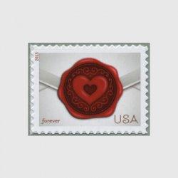 アメリカ 2013年ラブ切手