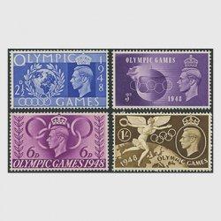 イギリス 1948年ロンドンオリンピック大会4種