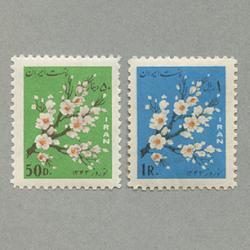 イラン 1964年Nowrooz 2種