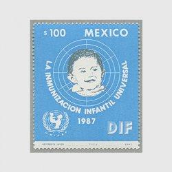 メキシコ 1987年世界健康デー、ユニセフ子供生存計画