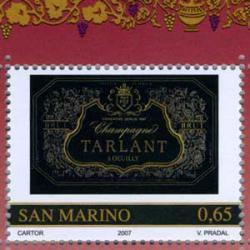 サンマリノ 2007年ヨーロッパワインのラベル