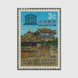 沖縄 1966年ユネスコ創立20周年
