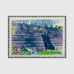 沖縄 1966年文化財保護強調週間