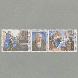 モナコ 1981年モーツァルト生誕225年3種連刷