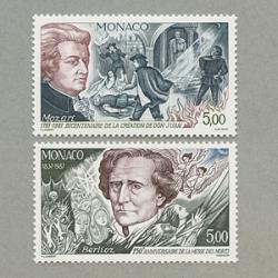 モナコ 1987年モーツァルト作曲オペラ「ドン・ジョバン二」初演200年など2種