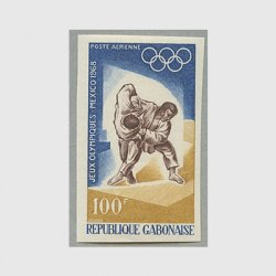 ガボン共和国 1968年メキシコオリンピック柔道無目打