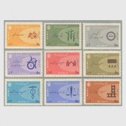 イラン 1966年シャーの改革案9種