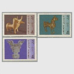 イラン 1967年ミュージアム週間3種