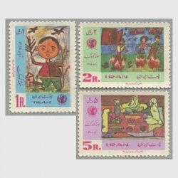 イラン 1969年児童画3種