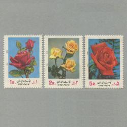 イラン 1972年バラ3種