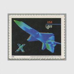 アメリカ 2006年X15型試験機額面4.05ドル