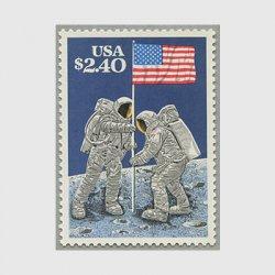 アメリカ 1989年月面着陸20年
