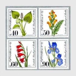 ベルリン 1981年アイリスなど花4種