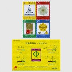 中国マカオ 2007年科学技術・黄金比