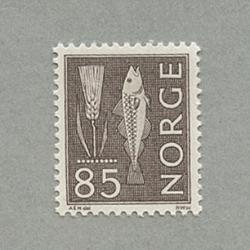 ノルウェー 1963年麦と魚85o