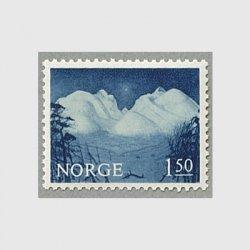ノルウェー 1965年Rondaneの山並み
