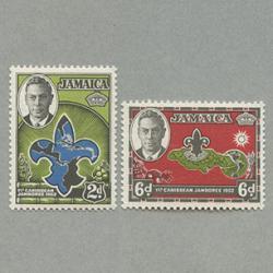 ジャマイカ 1952年カリブボーイスカウトジャンボリー2種