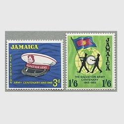 ジャマイカ 1965年救世軍100年2種