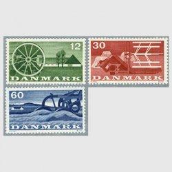 デンマーク 1960年農家と農機具3種