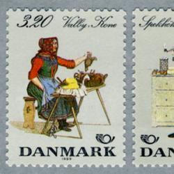 デンマーク 1989年民族衣装2種