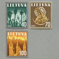 リトアニア 1991年キリスト教3種