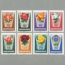 ハンガリー 1962年世界青年祭8種
