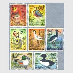チェコスロバキア 1967年鳥7種