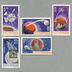 ルーマニア 1965年宇宙探査5種