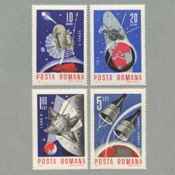 ルーマニア 1966年国際宇宙事業4種