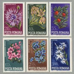ルーマニア 1974年自然保護6種