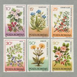 ルーマニア 1993年薬草6種