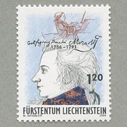 リヒテンシュタイン 2006年アマデウス・モーツァルト