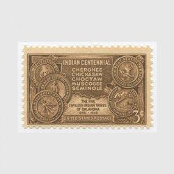 アメリカ 1948年インディアン100年