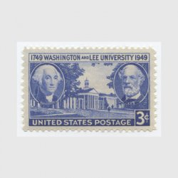 アメリカ 1949年ワシントン・リー大学