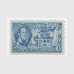 アメリカ 1950年インディアナ準州150年