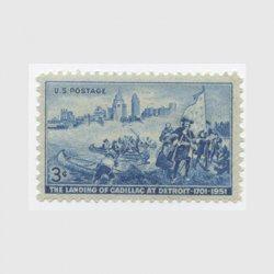 アメリカ 1951年デトロイト上陸250年