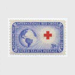 アメリカ 1952年赤十字