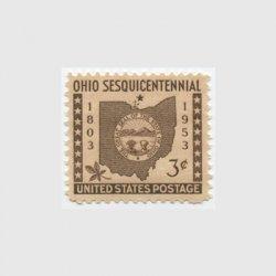 アメリカ 1953年オハイオ州150年