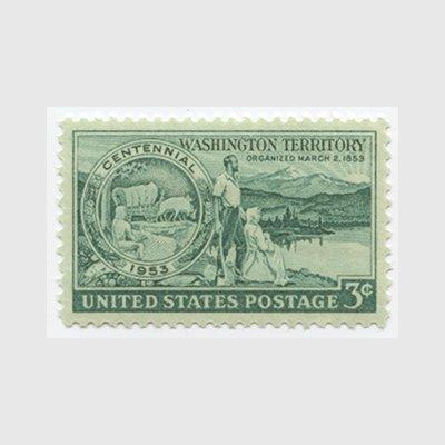 アメリカ 1953年ワシントン準州100年 - 日本切手・外国切手の販売 ...