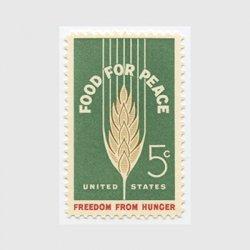 アメリカ 1963年飢餓救済運動