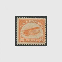 アメリカ 1918年航空切手6c