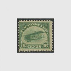 アメリカ 1918年航空切手16c