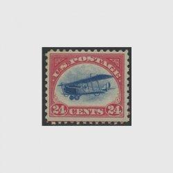 アメリカ 1918年航空切手24c