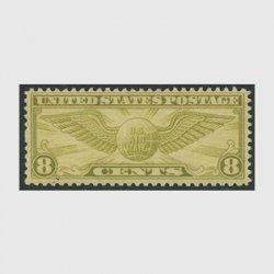 アメリカ 1932年航空切手8c