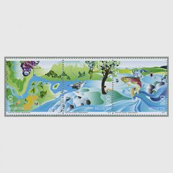 スイス 2013年自然復興3種連刷