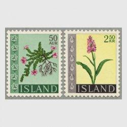 アイスランド 1968年花2種