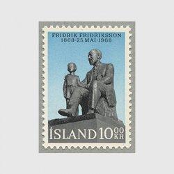 アイスランド 1968年作家Fridrik Fridriksson生誕100年