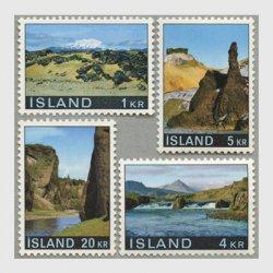 アイスランド 1970年風景4種