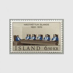 アイスランド 1970年最高裁判所50年